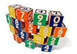 : Uncle Goose Braille Math Blocks - Made in USA
