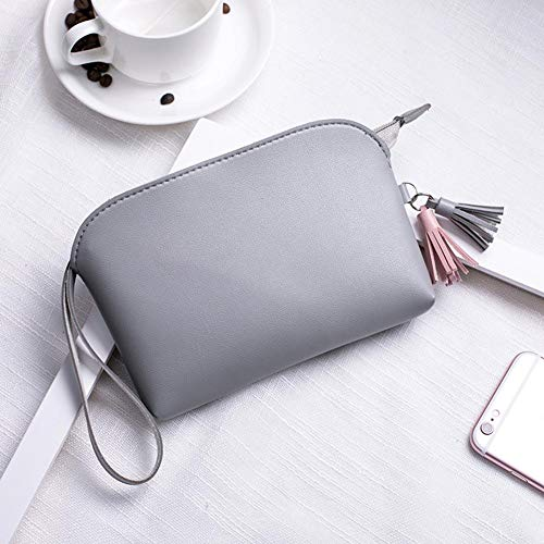 Purse Shell Domybest Grey Phone Clutch Zipper Bag Change Fashion Wallet Coin Women Tassel ZSwU8xEqw