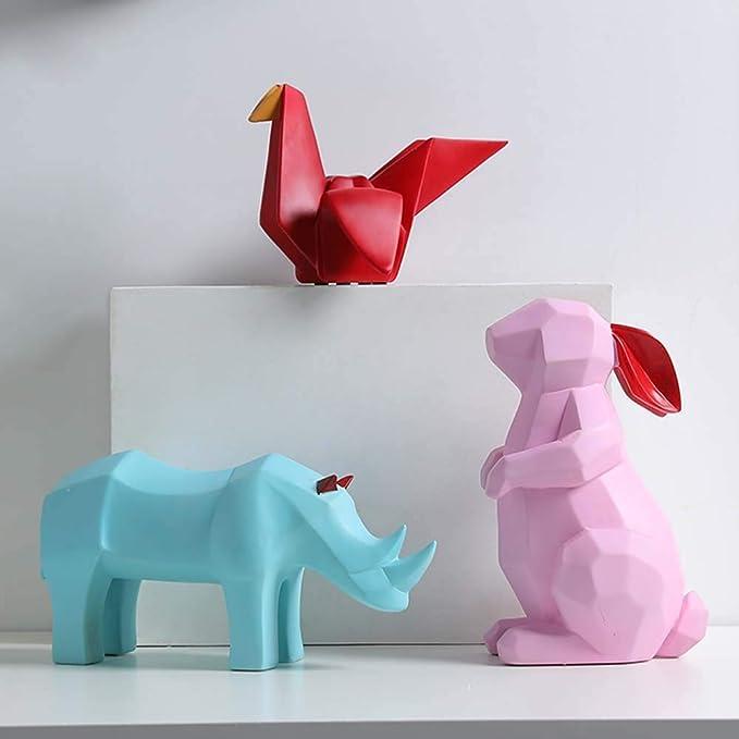 Amazon.com: FENDOUBA Figuras Decoraciones Escultura ...