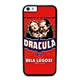 Dracula, Horror Movie - Case for iPhone 6 Plus, Black Silicone Rubber Cover in DDJK Case