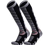 WEIERYA Ski Socks 2 Pairs Pack for Skiing, Snowboarding Performance Socks