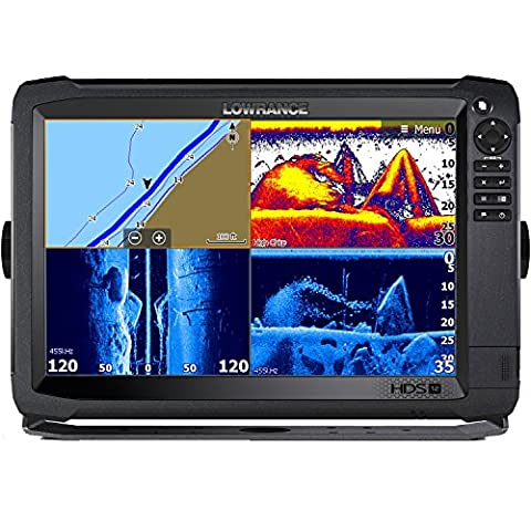Lowrance Navico HDS-12 Carbon Insight Mid/High 3-D Transducer Bundle (Hds 10 With Structure Scan)