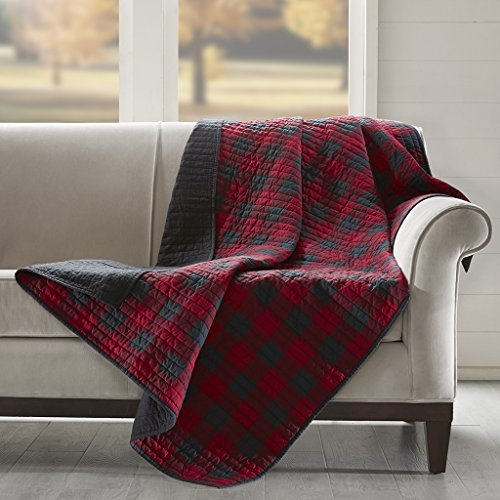 Woolrich WR50-1780 Check Quilted Throw 50x70