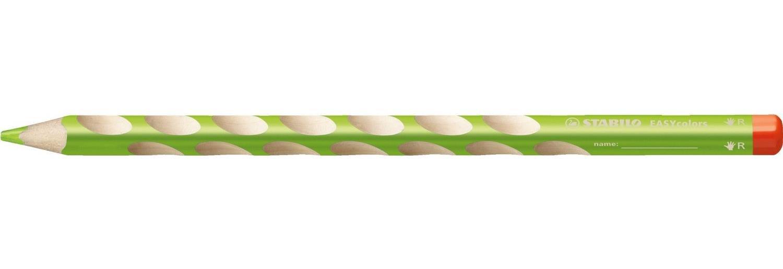 STABILO Lot de 3 Crayons de couleur ergonomique EASYcolors Droitier Vert clair