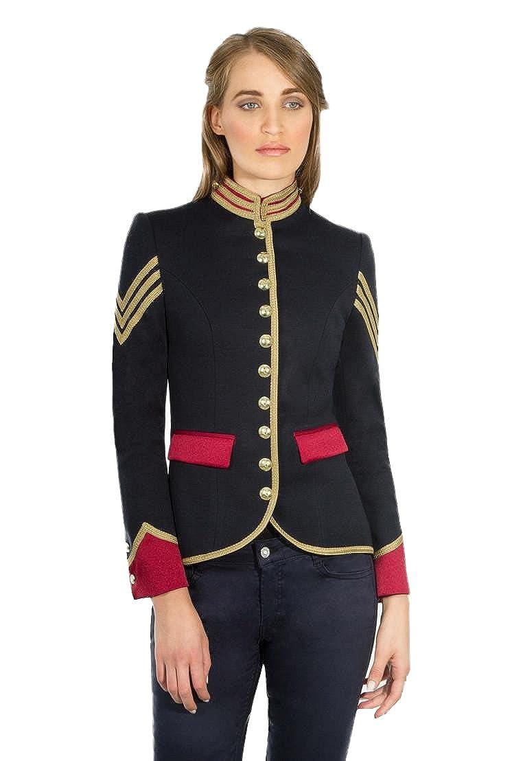 Blazer Mujer inspiracion Militar  Amazon.es  Ropa y accesorios bd01ce8518043