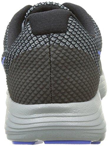 Nike Herren Revolution 3 Laufschuhe Schwarz (Black / Medium Blue / Cool Grey / Photo Blue)