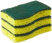 Scotch-Brite Scrub Sponge, 3 Pack, Heavy Duty, Garage/Outdoor/Kitchen Scrubber