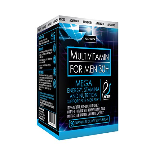 Actif Organic Multivitamin for Men Age 30+ with 30 Organic Vitamins and Organic Herbs, Non-GMO, Made in USA, 90 Count Review