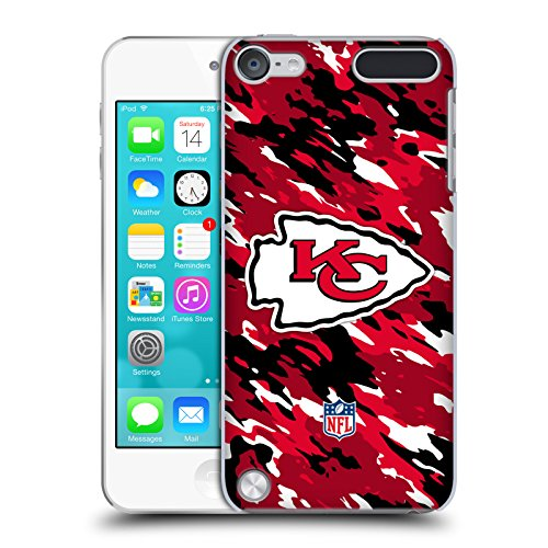Price comparison product image Official NFL Camou Kansas City Chiefs Logo Hard Back Case for iPod Touch 5th Gen / 6th Gen