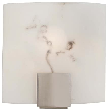 Minka Lavery 334-84, 1 Light Wall Sconce, Brushed Nickel