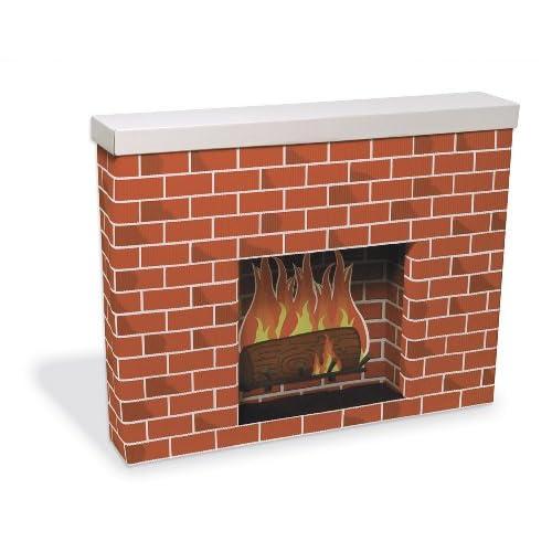 Pacon PAC53080 Corobuff Cardboard Fireplace Decoration