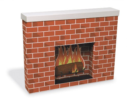 Pacon PAC53080 Corobuff Cardboard Fireplace Decoration ()