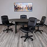 Flash Furniture 6 Foot (72 inch) Oval Conference
