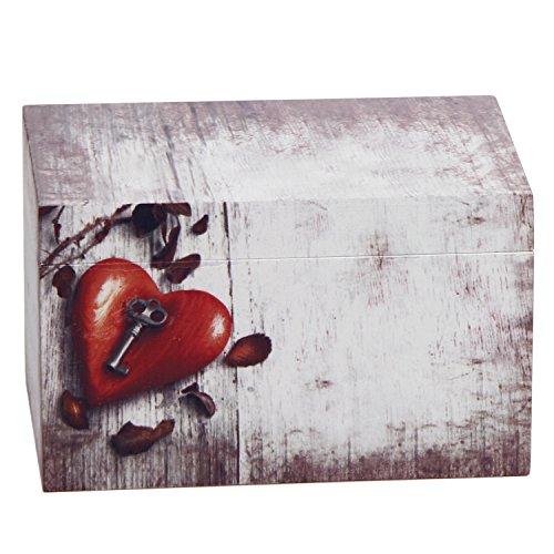 - Hosley Wooden Keepsake/Gift/Decorative Card/Photo Storage Box, 6