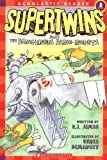 Supertwins Meet the Dangerous Dino-Robots, Brian James, 0439466253