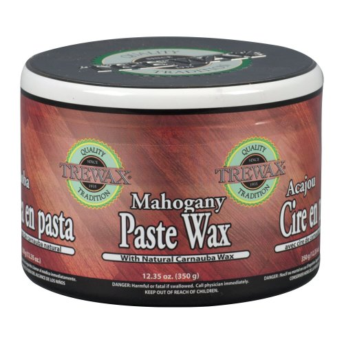 Trewax Paste Wax Mahogany Indian Sand, Pack of 2, 12.35-Ounces ()