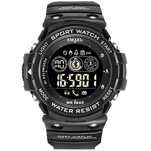 Amazon.com: Mens Digital Sports Watch Outdoor Wrist Fitness ...