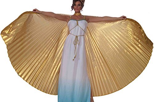 Forum Novelties - Theatrical Adult Wings, Gold, One-Size