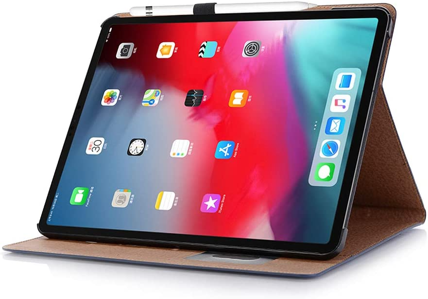 INorton iPad Air 3 Protective Case 2019 3rd Generation iPad Air PU Leather Stand Smart Cover with Card Holders,Slim Full Body Shockproof Sleeve for iPad Air 3