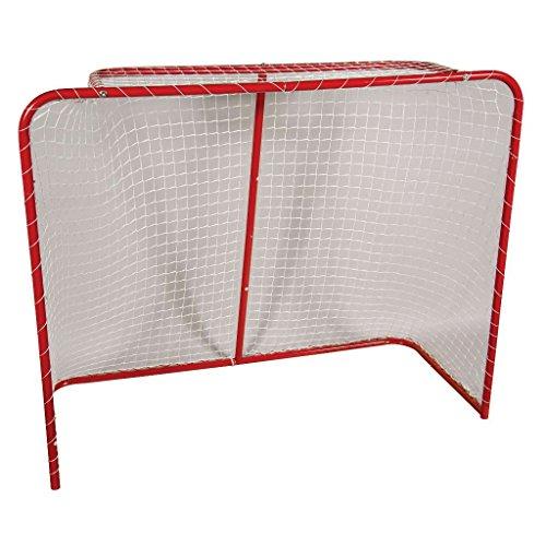"Franklin Sports Street Hockey Goal - Steel Street Hockey Net - All Weather Durable Outdoor Goal - 54"" from Franklin Sports"