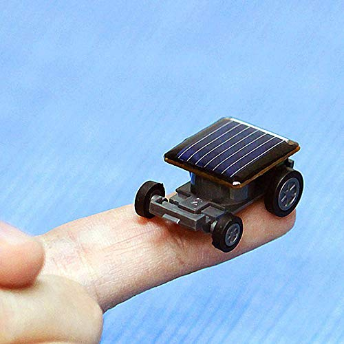US Fast Shipment &Clearance  Smallest Solar Power Mini Toy Car Racer,33x 22x 14mm for Kids Baby Educational Solar Powered Toy Gift - Solar Mini Racer