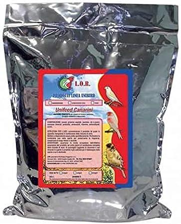 Pienso LOR Unifeed Canarios CRÍA 10 kg: Amazon.es: Productos para mascotas