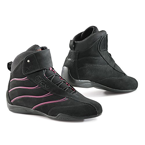 TCX Boots Women's X-Square Lady Boots (Black/Pink, Size 39/Size 7)
