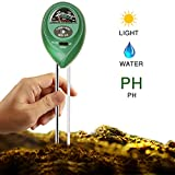Kyпить Covery 3 in 1 Soil Tester Moisture Meter, Light and PH acidity Tester, Plant Tester for Garden, Farm, Lawn, Indoor & Outdoor (No Battery needed) Easy Read Indicator на Amazon.com