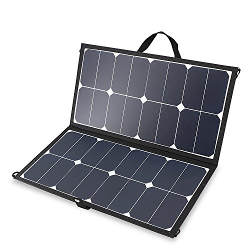 Renogy Solar 50W Eclipse Lightweight Suitcase with 10A Controller, 50W-10A PWM