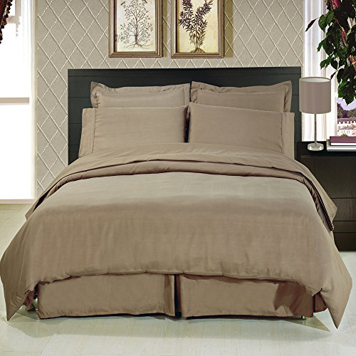Royal Hotel's King Size Solid Taupe 300-Thread-Count 3pc