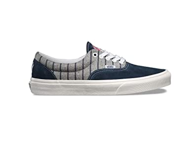 d61fb1058c Image Unavailable. Image not available for. Color  Vans Era MLB Yankees Wool  Blue White Men s Classic Skate Shoes Size 11