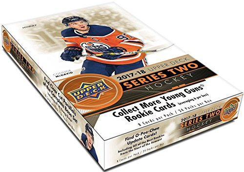 2017/18 Upper Deck Series 2 NHL Hockey HOBBY box (24 pk)