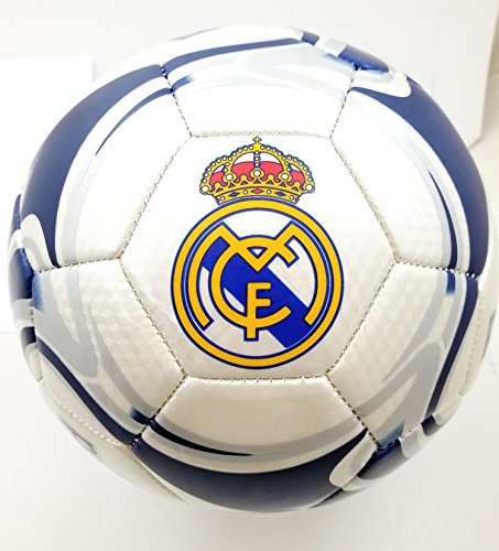 (Real Madrid Authentic Official Licensed Soccer Ball Size 5 -008)