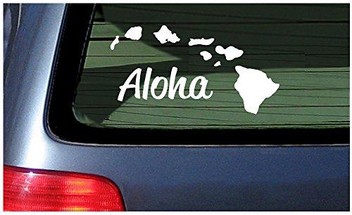 Aloha Hawaii Island Chain Sticker