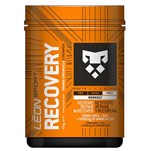 The #1 Recovery Powder - Amazon's Favorite -Muscle Recovery Supplement–Supports Lean Muscle Growth and Repair– Best Recovery Post workout - creamsicle flavor- Packed with Yerba Mate and Aminoacids.