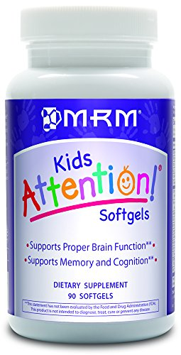 MRM Attention Softgels, 90-Count Bottle