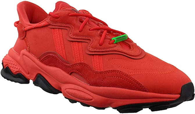herir simpatía Sophie  Amazon.com | adidas Mens Ozweego Tr Lace Up Sneakers Shoes Casual - Red |  Shoes