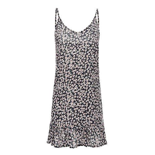 - NRUTUP Off-Shoulder Dress Sale Women's Printing Short Sleeve Mini Dress Princess Dress Sleeveless Sexy Dress(Navy,M)