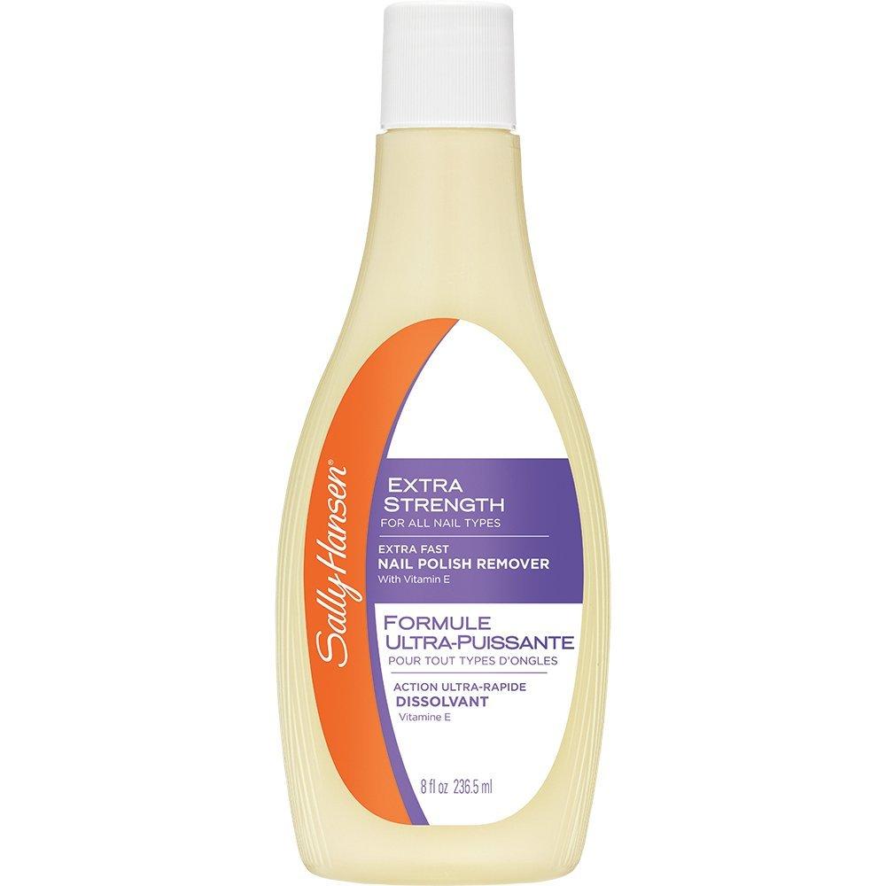 Sally Hansen Extra Strength, Fast Polish Remover with Vitamin E, 8 Fluid Ounce : Beauty