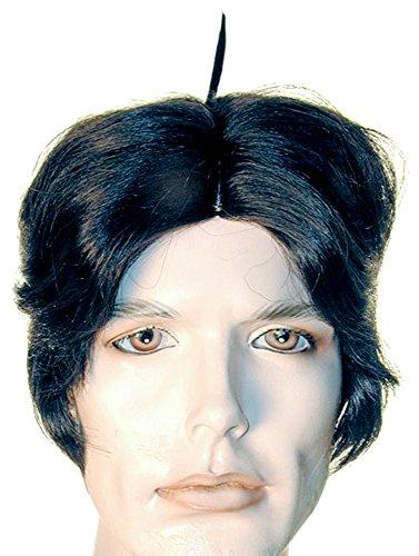 Alfalfa Costume Halloween (UHC Men's Alfalfa Theme Party Wig Adult Halloween Costume Accessory)