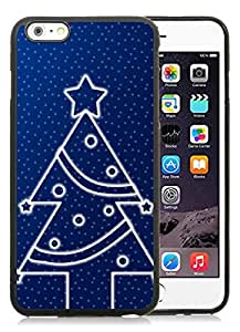 2014 New Style iPhone 6 Plus Case,Christmas tree Black iPhone 6 Plus 5.5 TPU Case 17