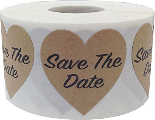 save the date envelope seals - 7