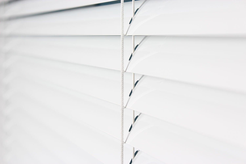 EFIXS Alu-Jalousie Alu-Jalousie Alu-Jalousie - Farbe  weiss - Höhe  160cm - Breite im Angebot wählbar - hier  200 x 160 cm (Breite x Höhe) - Aluminium-Jalousie 821d74