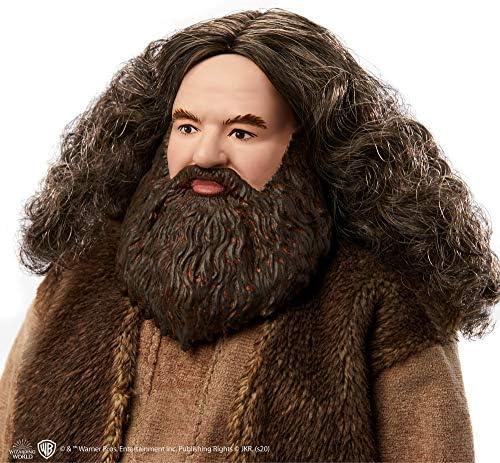 HARRY POTTER- Personaggio Hagrid Articolato da 30 cm Giocattolo per Bambini 6+Anni, GKT94
