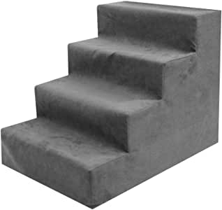 precauti Confort Escaleras para Mascotas Mascotas Escalada Sofá y Cama Escalera de Esponja Gato Escalera de Escalada para Perros: Amazon.es: Productos para mascotas