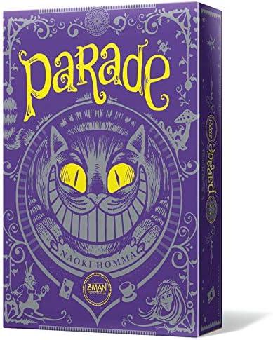 Z-man Games España- Parade, Color (ZM1201ES): Amazon.es: Juguetes y juegos