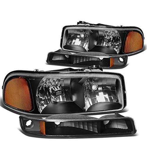 04 sierra headlight assembly - 5