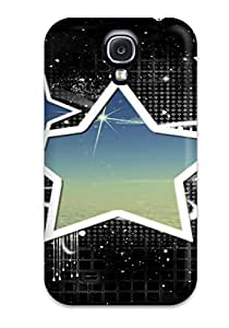 Galaxy High Quality Tpu Case/ Vector Artistic Abstract Artistic KgixckH5653jCOFW Case Cover For Galaxy S4