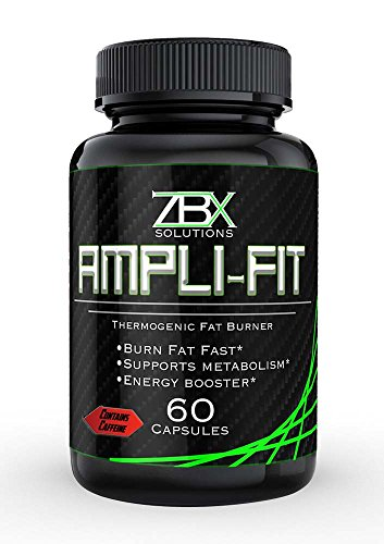 AMPLI-FIT: 60 CT THERMOGENIC || FAT BURNER FOR MEN & WOMEN || Supports Metabolism and Suppresses Appetite || Yohimbine, Ketones, and Green Tea Blend || 100% SATISFACTION GUARANTEED