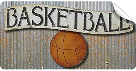 Sportsman Wall Sticker Basketball Sports Quote Wall Decal Kids Baby Room Decor